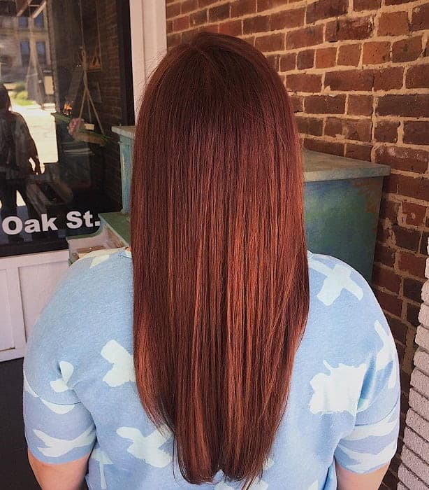 12 Epic Ways To Slay Chocolate Red Hair Color This Season