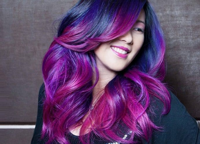 30 Refreshing Red Violet Hair Color Trends For 2021