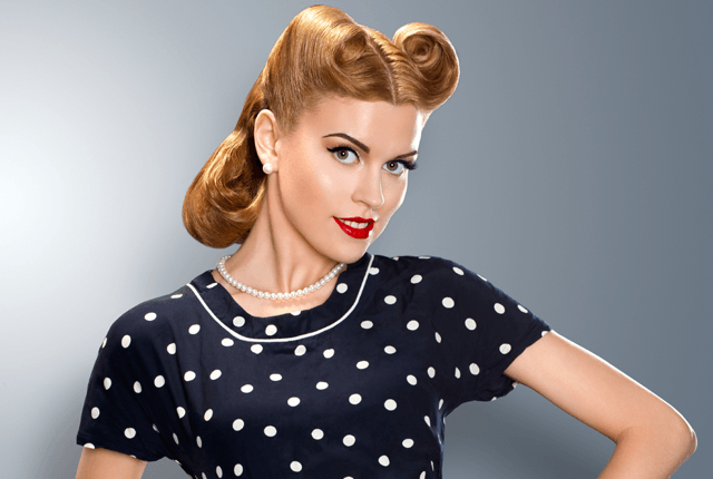 35 Vintage Victory Rolls From 1940 S Any Woman Can Copy