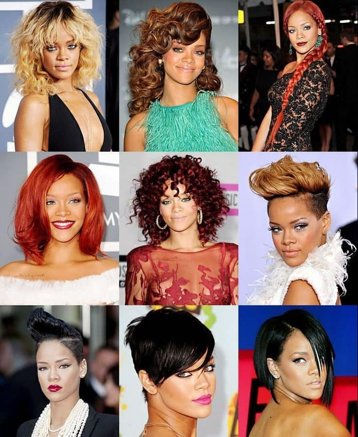 7 Best Blonde Hairstyles By Rihanna Hairstylecamp