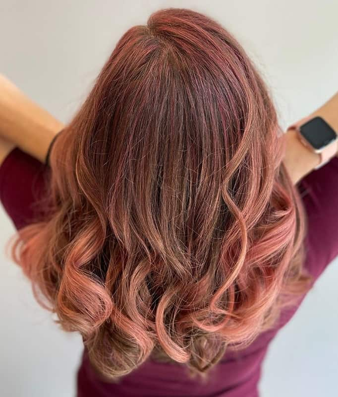 12 Hottest Rose Gold Hair Colors Trending Right Now