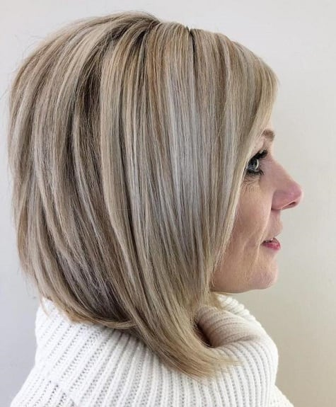 50 Greatest Short Hairstyles For Round Faces Over 50