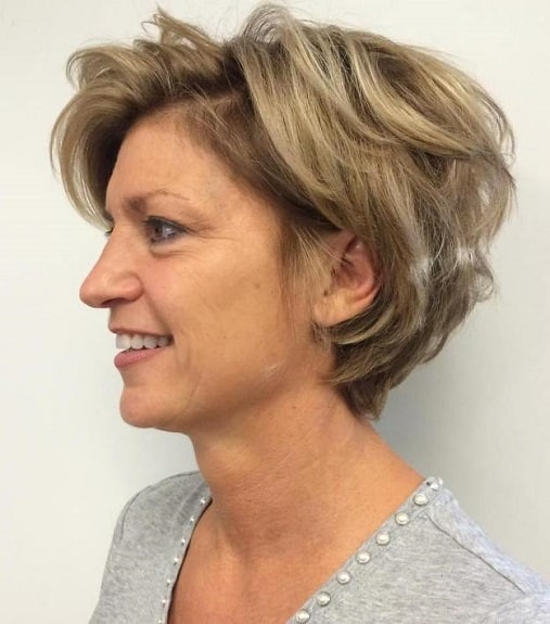 There Are Plenty Of Diffe Options For Short Hairstyles Women Over 50 With Round Faces