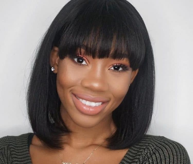 Top 5 Short Hairstyles with Bangs for Black Women