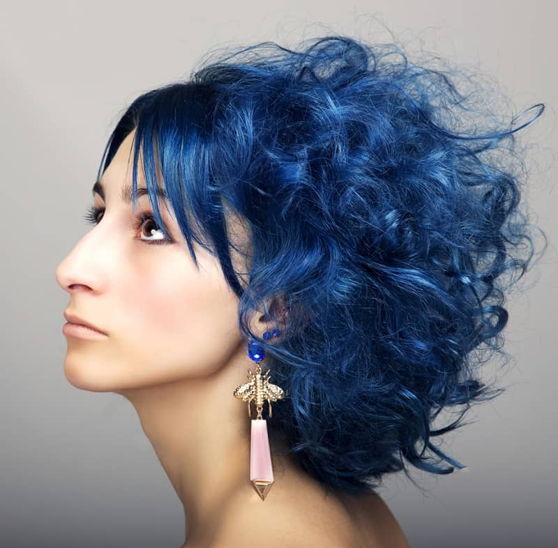 30 Astonishing Short Blue Hair Color Ideas For 2021