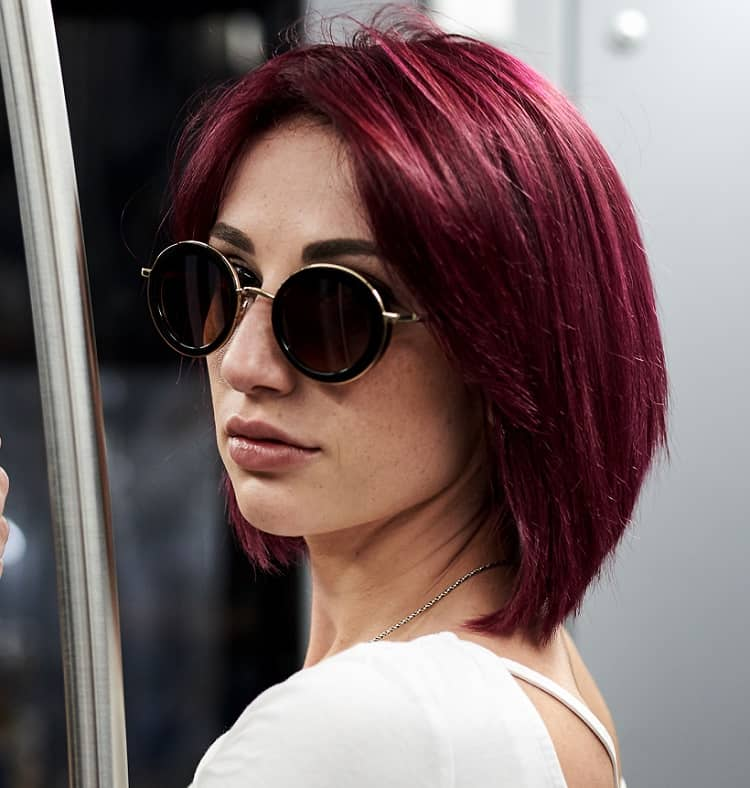 40 Short Red Hairstyles To Show Off Your Fire December 2020