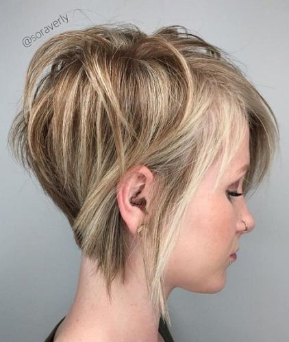 25 of The Hottest Short Hairstyles for Fine Hair (2020 Guide)