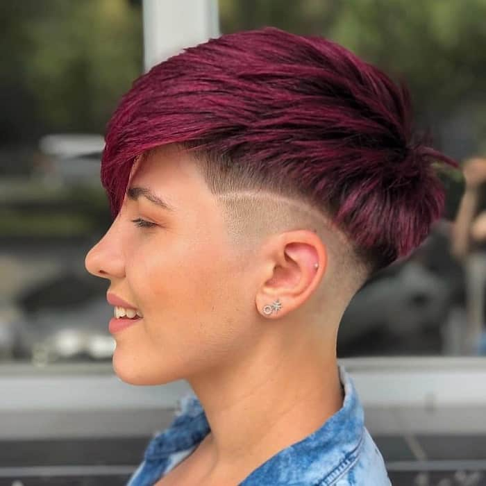 11 Short Hairstyles With Shaved Sides Women S Hair Trend