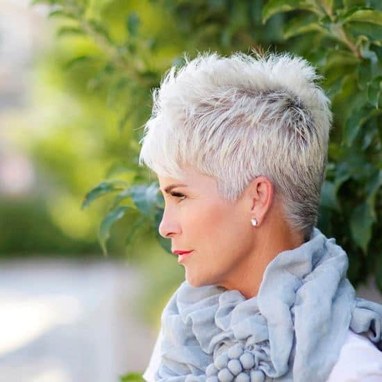 pixie cut for women over 50. The most popular short hairstyle ...