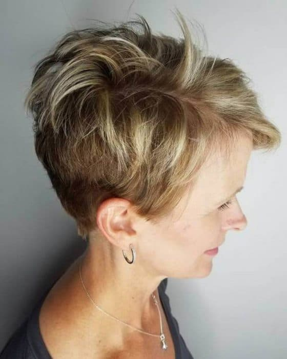 Quiff Hairstyle Womens
