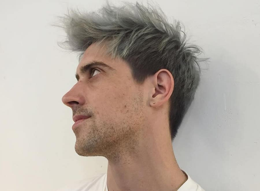 7 Short Hairstyles For Men With Gray Hair Hairstylecamp