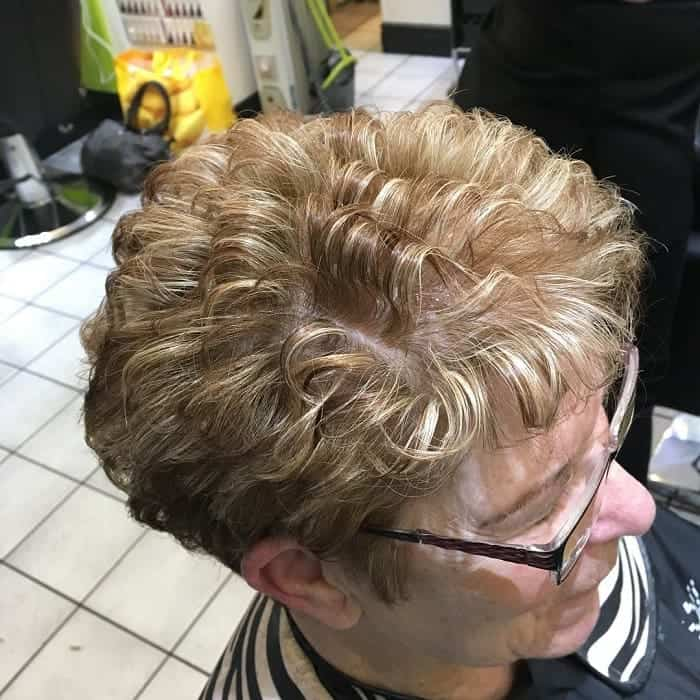 50 Classy Hairstyles For 50 To 60 Years Old Women With Glasses
