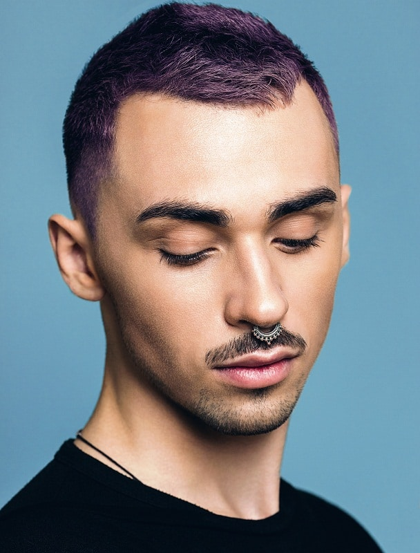 15 Funky Purple Hairstyles For Men 2020 Hairstylecamp