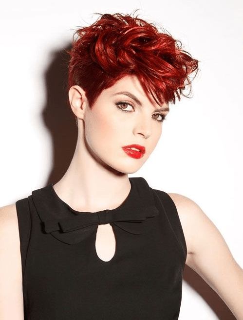 23 Short Red Hairstyles to Show Off Your Fire [November. 2018]