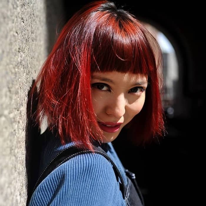 40 Short Red Hairstyles To Show Off Your Fire January 2021