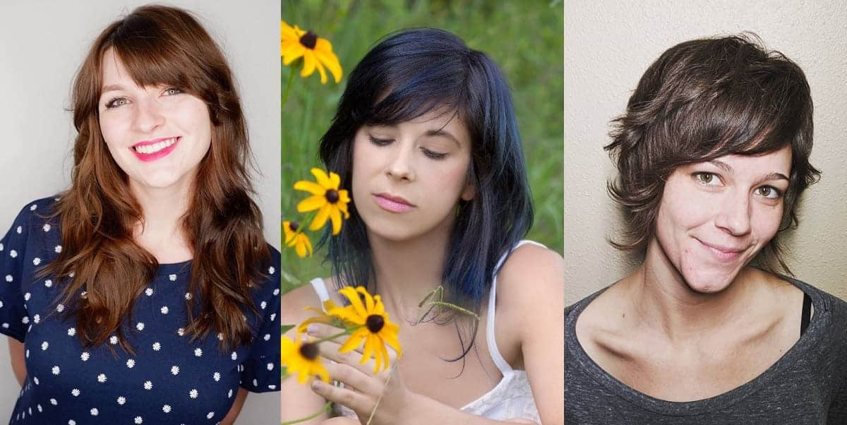side bangs ideas for females