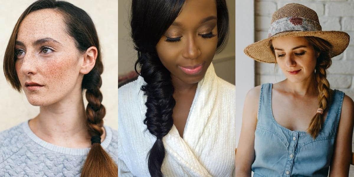 side braided hairdos