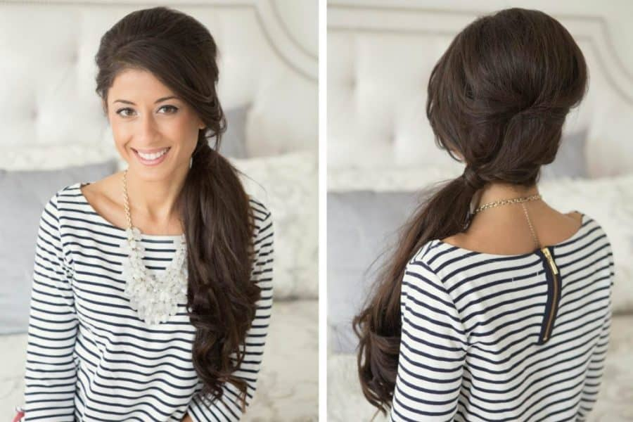 5 Beautiful Side Ponytail Hairstyles With Weave [2019 Trend]