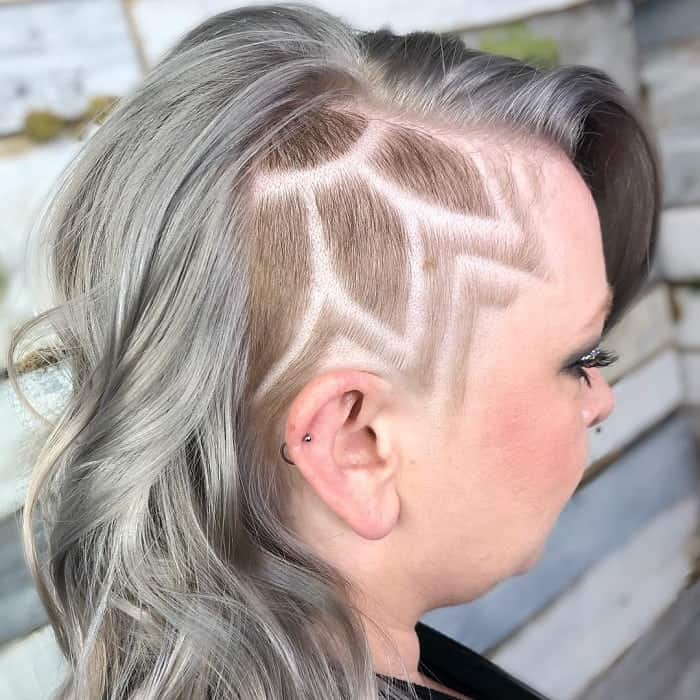 7 Hairstyles With Side Shaved Hair Designs That Are So Bold