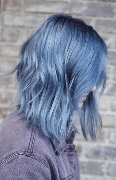 Silver Blue Hair Is Not Por That S Why If You Choose It Can Count On Sporting A Unique Hairstyle Take Another Look At These Seven Options And