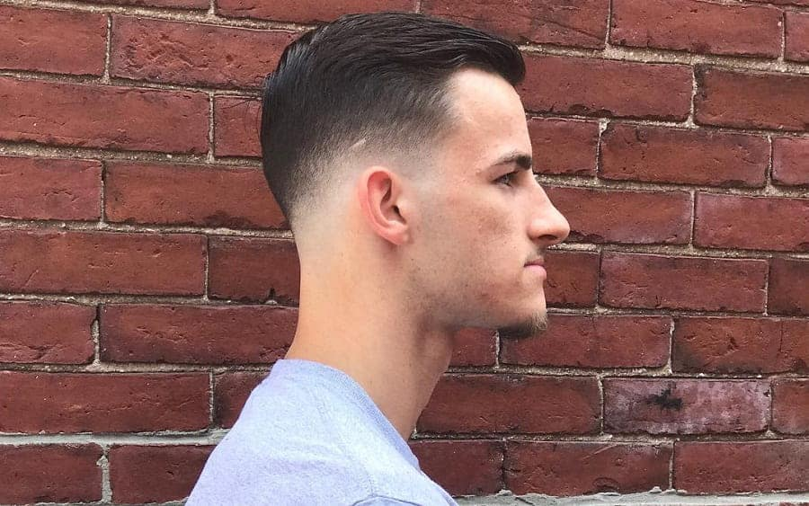 15 Best Comb Over Hairstyles with Skin Fade for 2020