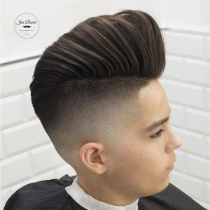 How to style a pompadour fast easy hairstylecamp you have a pompadour if you are concerned that the pomade will not create the hold you are seeking you can apply some holding spray urmus Image collections