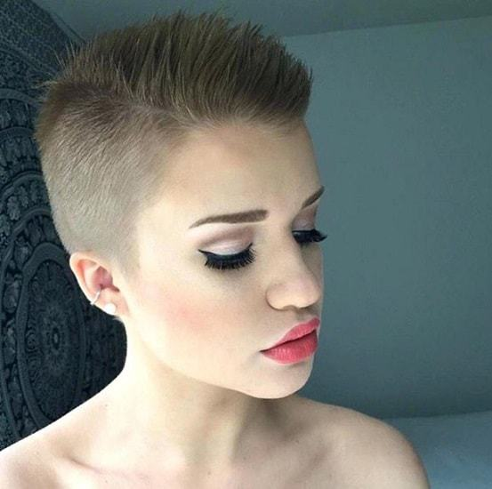 8 Slicked Back Undercuts For Brave Women Hairstylecamp