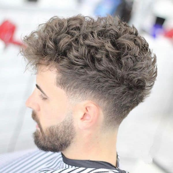 18 Exciting Taper Fades With Curly Hair 2020 Trends