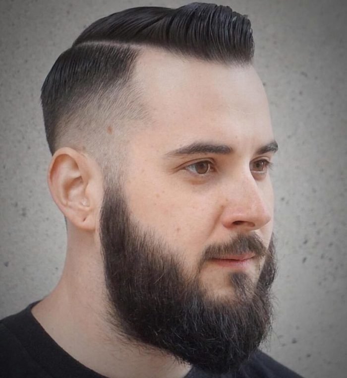 tapered haircut men