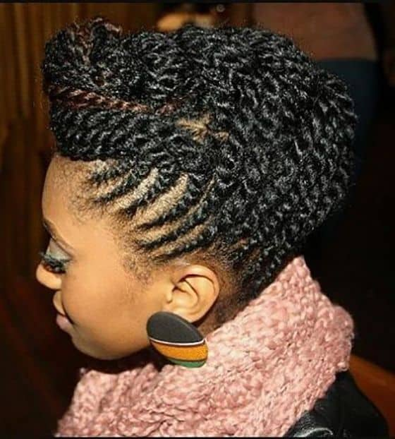 10 Modish Two Strand Twists On Natural Hair 2020 Trends