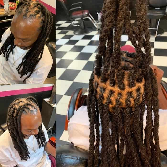 20 Two Strand Twists For Men 2021 Coolest Trends Hairstylecamp