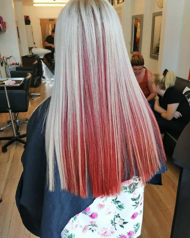 Astounding Two Tone Hair How To Dye 35 Ways To Style 2020 Schematic Wiring Diagrams Amerangerunnerswayorg