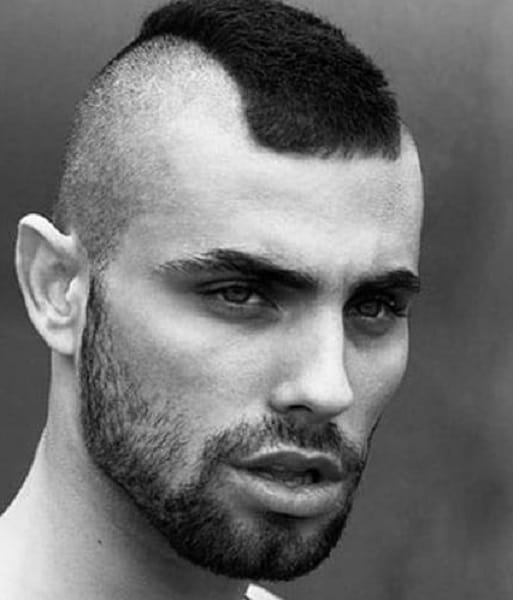 15 Atypical Mohawk Hairstyles with Designs for Men – HairstyleCamp