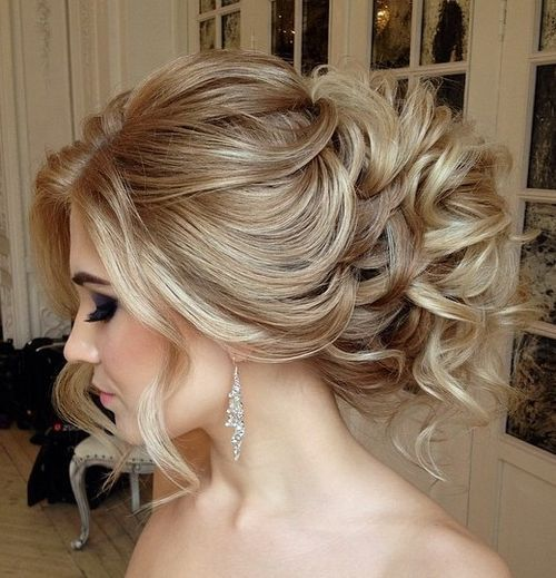 Hair Updo haircut long blonde hair
