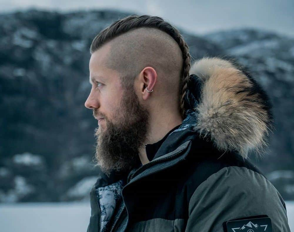 20 Retro Chic Viking Hairstyles For Men Hairstyle Camp