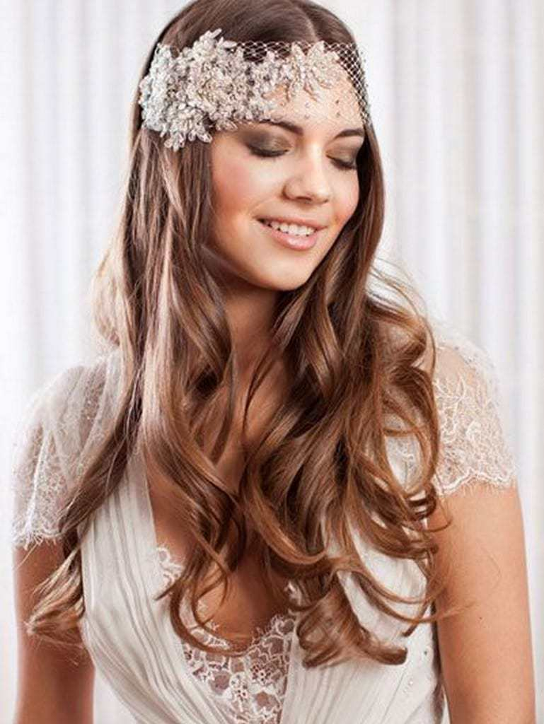 55 Epic Wedding Hair Down Styles for 2019