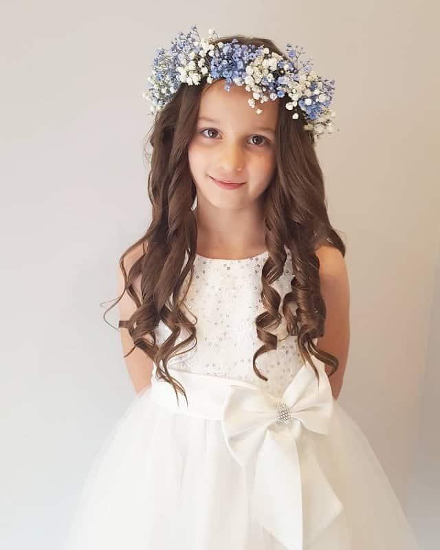 Hairstyles For Flower Girls On Weddings