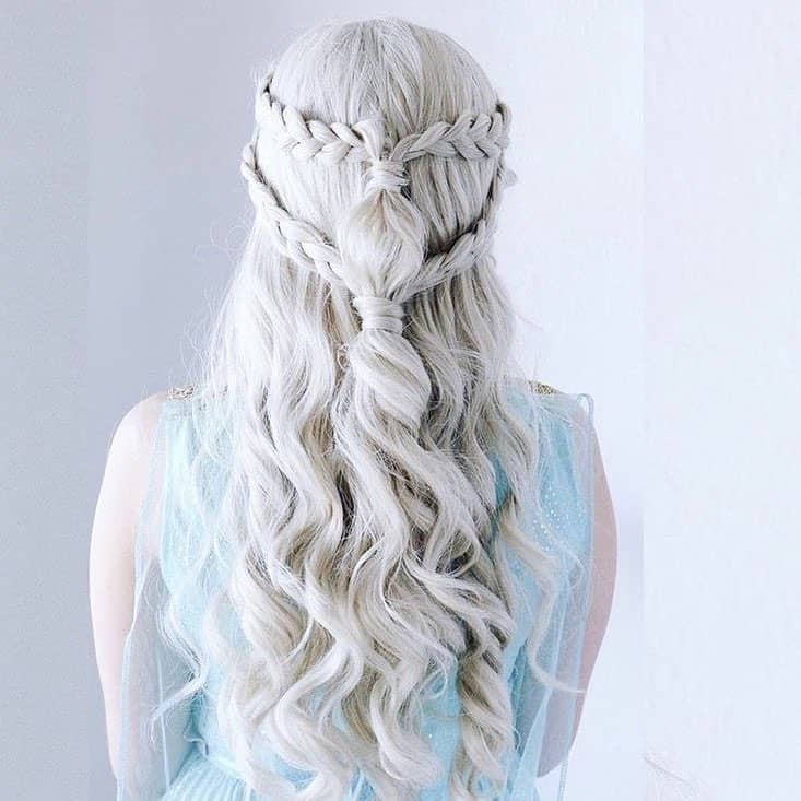 11 Of The Best White Hairstyles For Girls Hairstylecamp