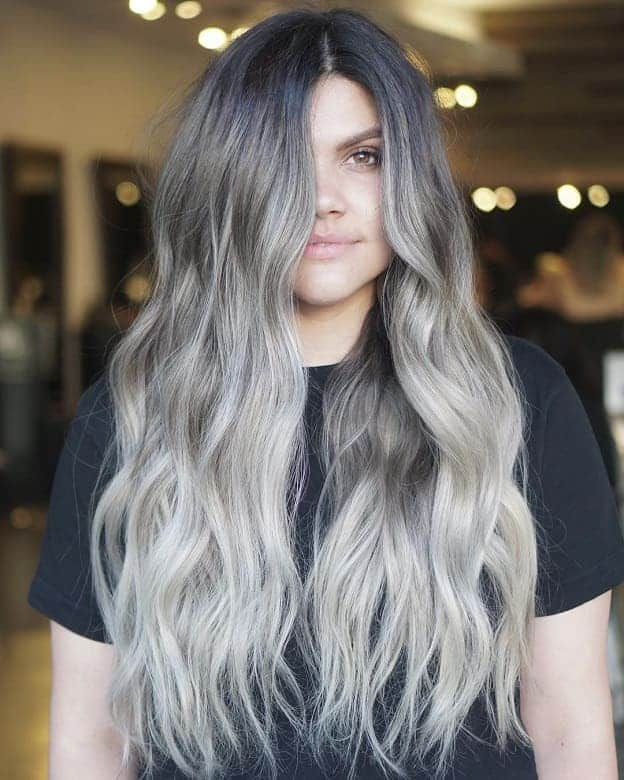 Black And White Highlights Hairstyles Hairstyle Ideas