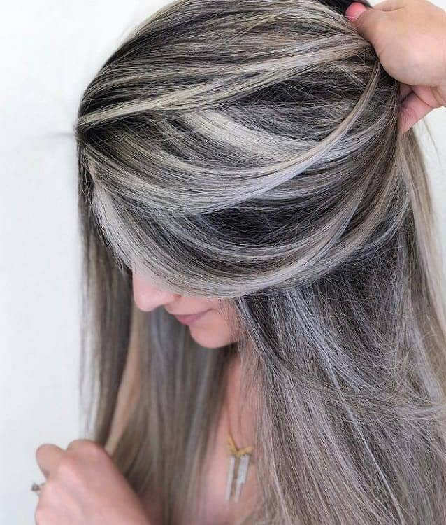 White Highlights 15 Hair Color Ideas That Are Insta Worthy