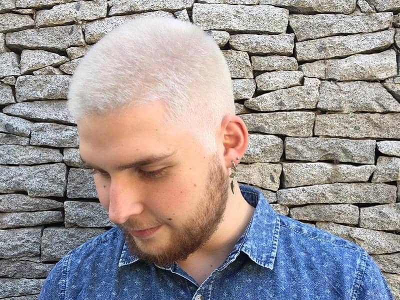 15 Ideal Hairstyles For Men With White Hair Hairstylecamp