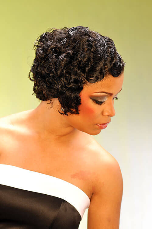 black hair finger wave styles finger wave hairstyles for black hair hairstyles 5064