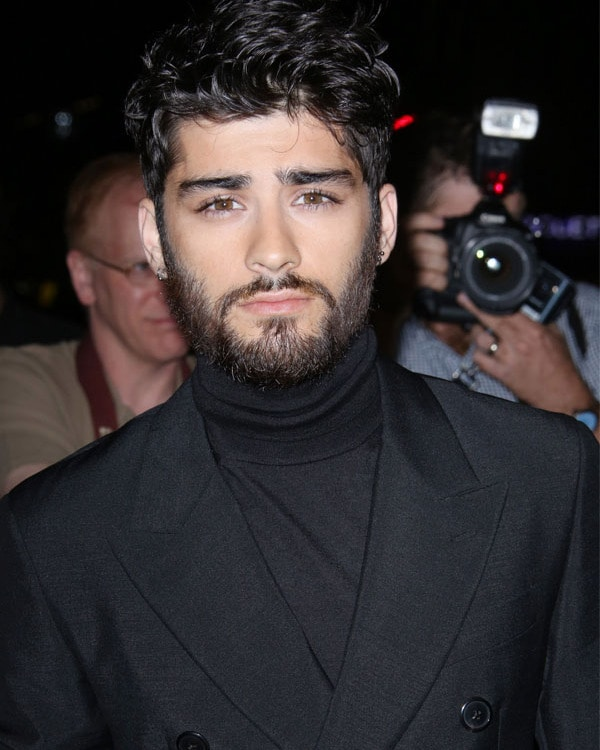 full beard style of Zayn Malik
