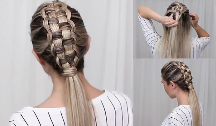 Astounding 10 Zipper Braid Hairstyles That Are Drop Dead Gorgeous Schematic Wiring Diagrams Phreekkolirunnerswayorg